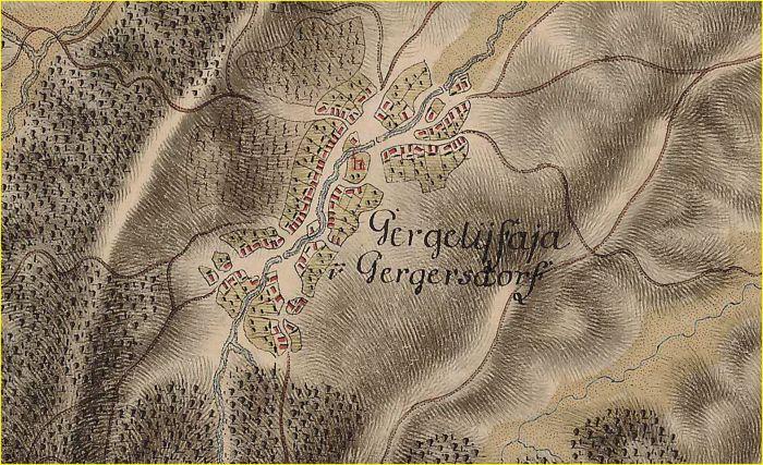 Gergelyfaja or Gergersdorf
