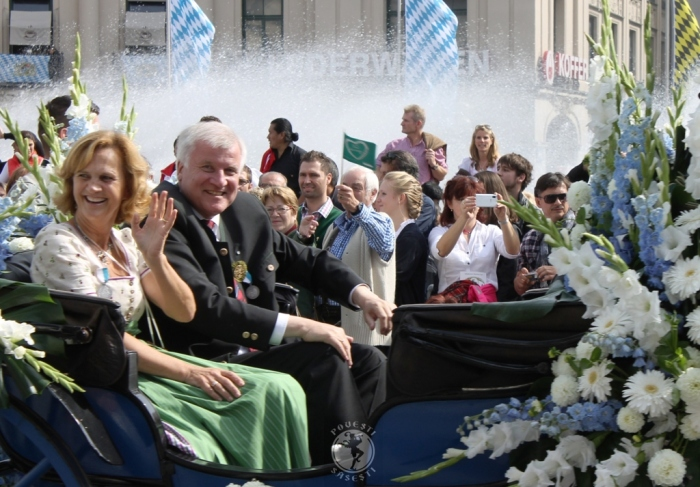 Primul ministru al landului Bavaria, Horst Seehofer