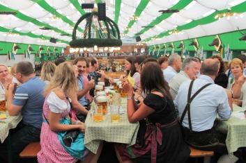 Paulaner Zelt, Oktoberfest 2012, foto: povesti sasesti