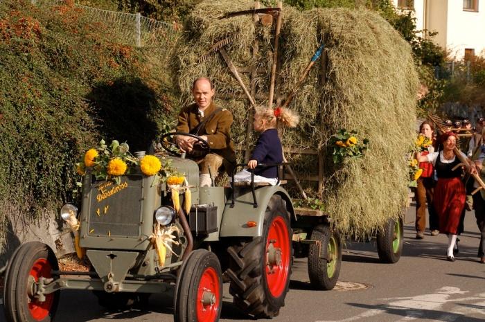 Parada de Ziua Recoltei, Germania