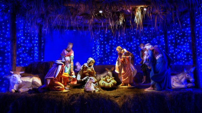 HD Nativity Scene