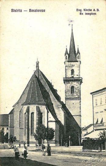 Bistritz Besztercze Siebenbürgen ungel. um 1915 2