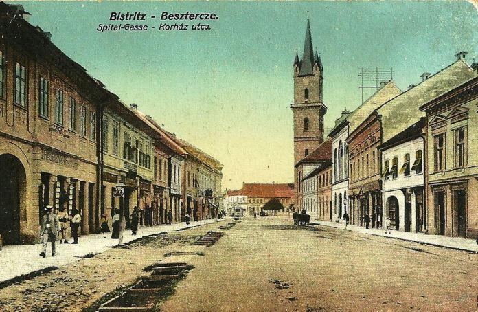 Bistritz Besztercze Siebenbürgen ungel. um 1915