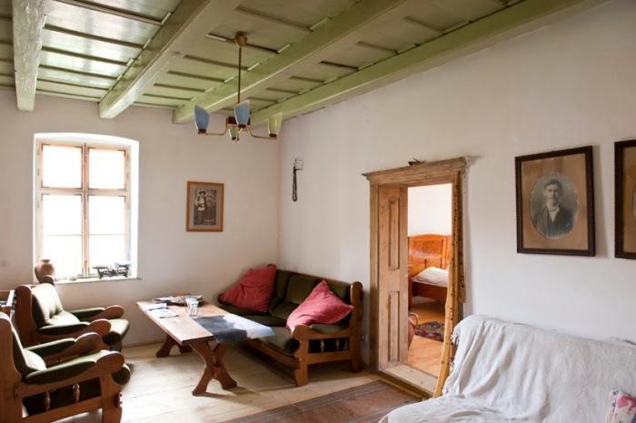 Tablou cu Martin Schaas, Marz din poveste, în Casa Noah din Richiș/Reichesdorf