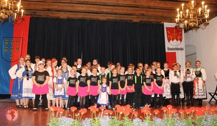 Programul susținut de copii și tineri în cadrul întâlnirii de la Dinkelsbuehl, ediția 2014