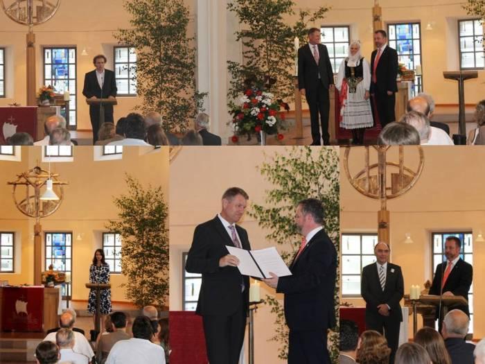 Decernarea premiilor Asociației Sașilor Transilvăneni, ediția 2014
