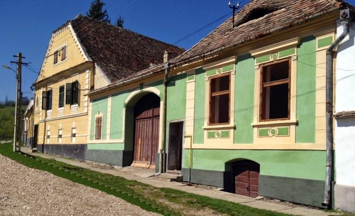 Casa verde & Casa Noah, Richiș/Reichesdorf