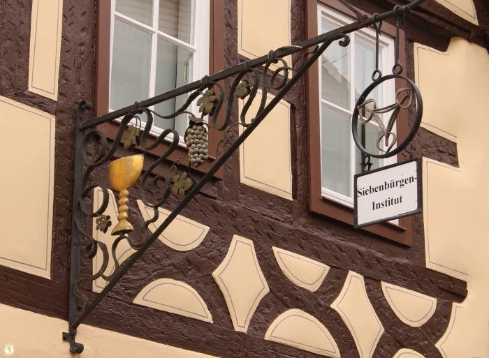 Sigla Institutului Transilvănean din Gundelsheim. Foto: Mihaela Kloos-Ilea