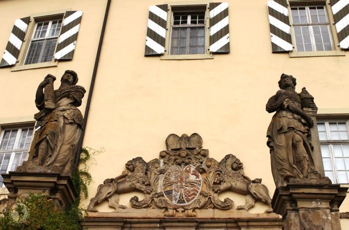 Intrarea în Castelul Horneck, sediul Muzeului Transilvănean din Gundelsheim. Foto: Mihaela Kloos-Ilea