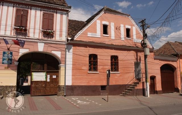 Casa Reginei Hedrich, de lângă Primăria din Moșna