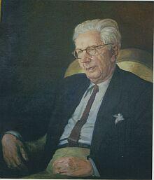 Schuster Dutz, portret de pictorul Eduard Morres. Sursa foto: siebenbuerger.de