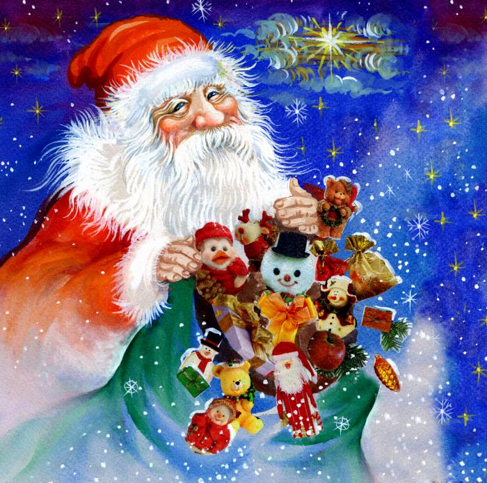 Vintage-Santa-night-sky-long goodbye
