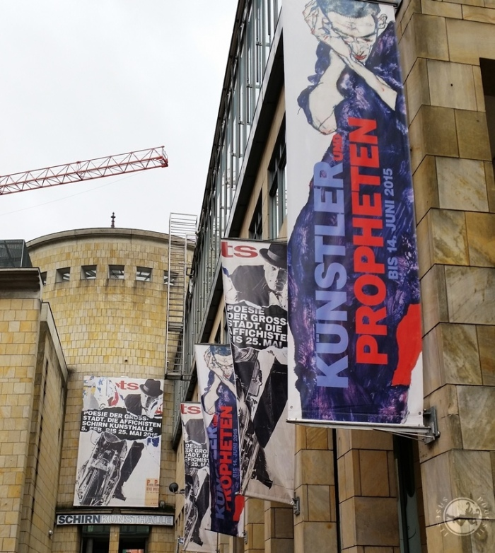 SCHIRN Kunsthalle, Frankfurt am Main, martie 2015. Foto: Mihaela Kloos-Ilea