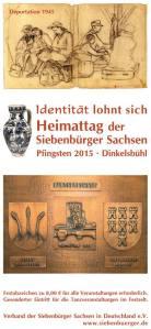Coperta pliantului întâlnirii de la Dinkelsbuehl 2015. Sursa foto: siebenbuerger.de
