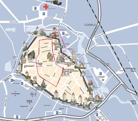 Heimattag_Stadtplan_Dinkelsbuehl_2015